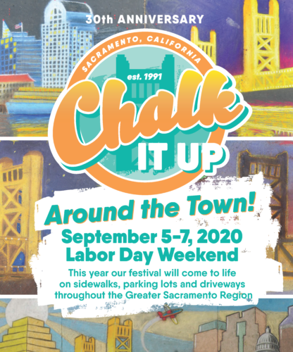 Chalk It Up 2020 festival flyer